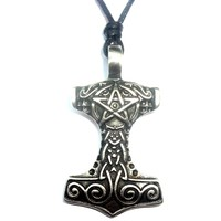 thumb-Thors Hammer mit Pentagramm-5