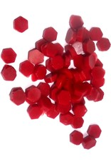 Siegewachsperlen rot, mit Schmelz-Löffelchen