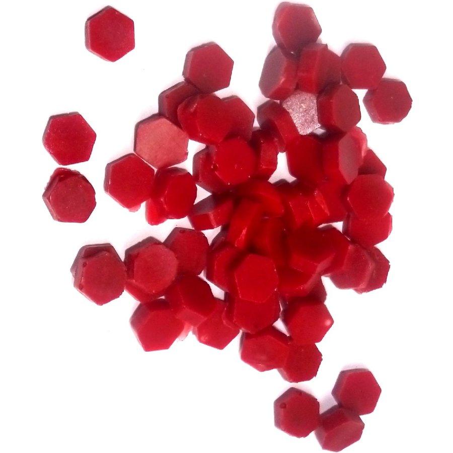 Siegewachsperlen rot, mit Schmelz-Löffelchen-3