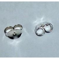 thumb-Ohrsteckermuttern, silber-3