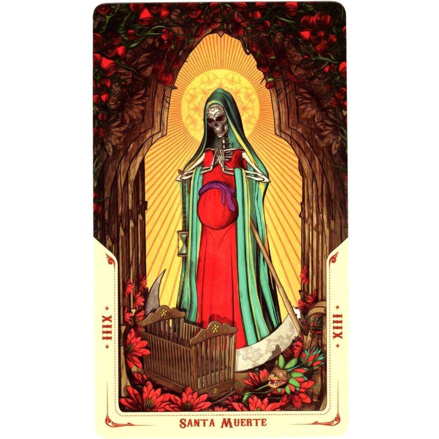 Tarotkarten Santa Muerte-5