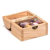 thumb-Holzkästchen mit Edelsteinen-6