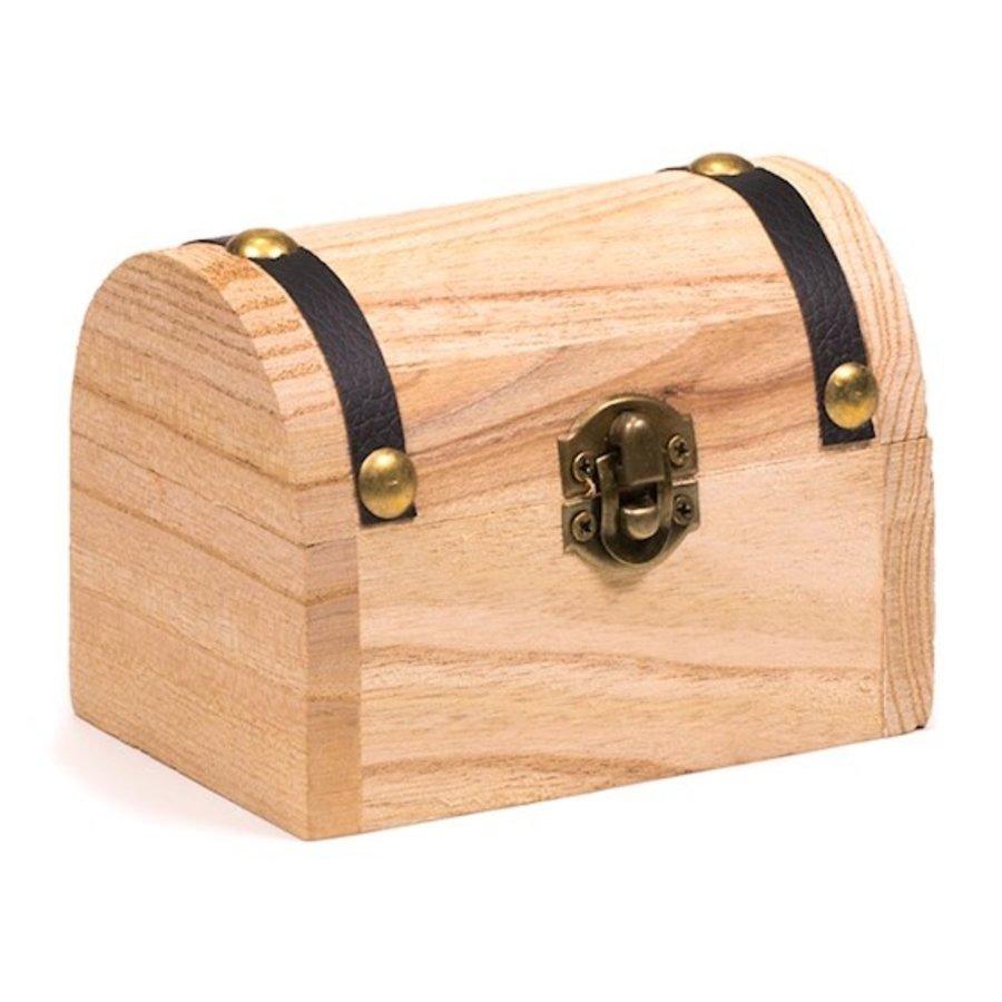 Holzkästchen mit Edelsteinen-7
