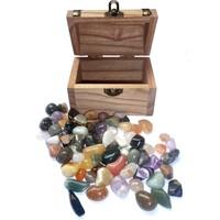 thumb-Holzkästchen mit Edelsteinen-5