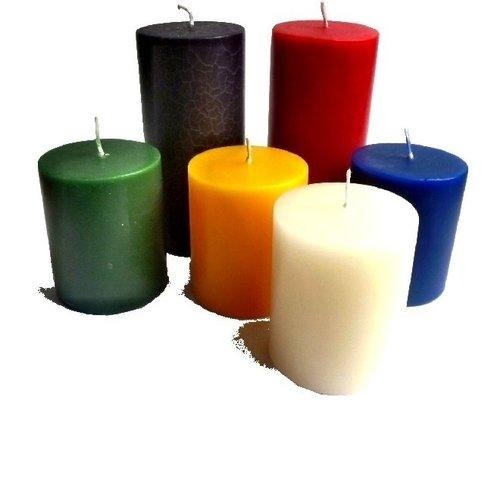 Große Kerzen, Altarkerzen, Stumpen