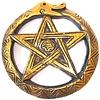 Wandrelief Schlangen-Pentagramm