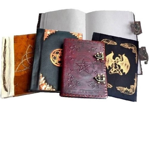 Buch der Schatten, Hexenbuch Grimoire, Schreibbücher
