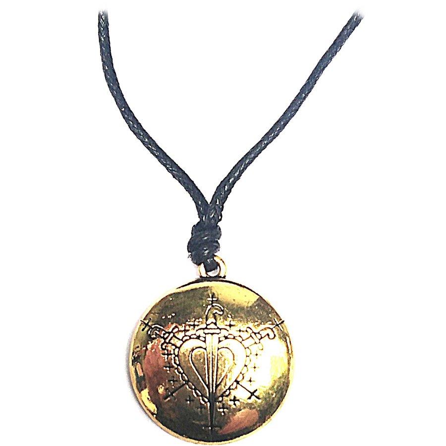 Oshun Voodoo Loa Veve Liebeszauber Amulett-2