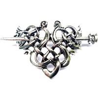 thumb-Wikinger Haarspange Keltischer Knoten-2