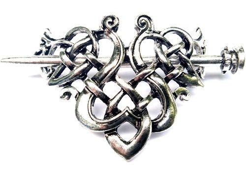 Keltischer Knoten Haarspange