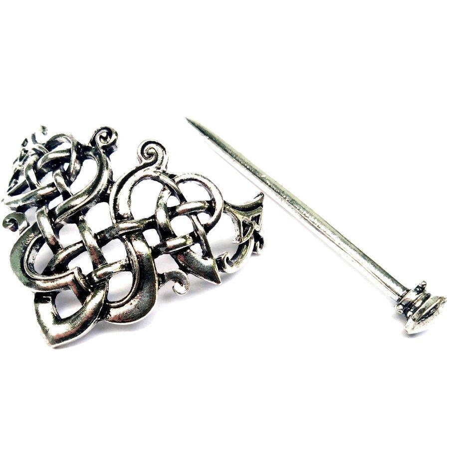 Wikinger Haarspange Keltischer Knoten-1