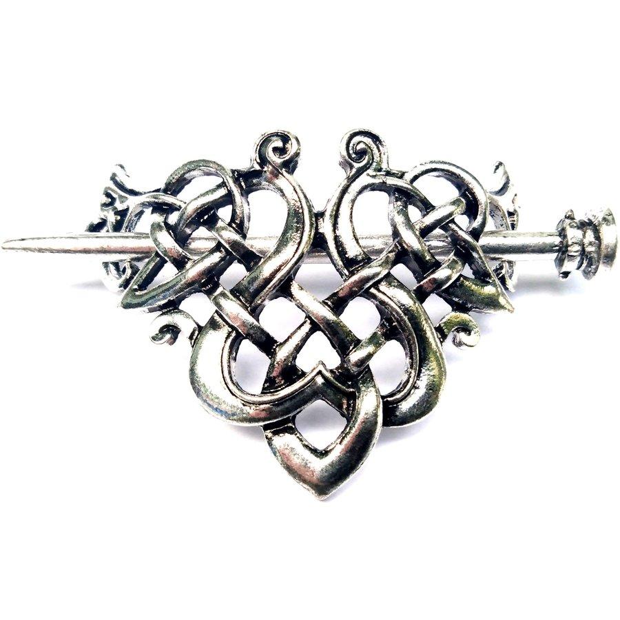 Wikinger Haarspange Keltischer Knoten-4