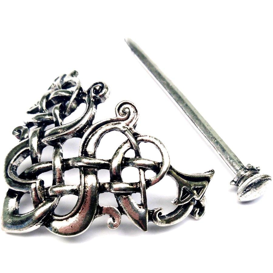 Wikinger Haarspange Keltischer Knoten-3