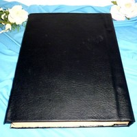 thumb-Buch der Schatten mit Fledermausflügelecken und Rosenpentagramm-3