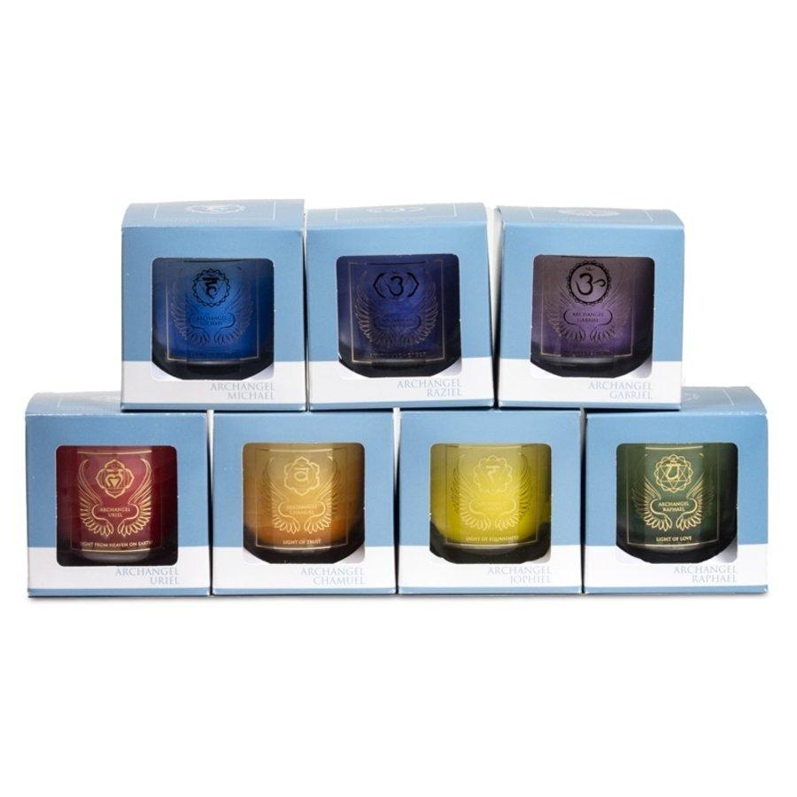 Chakra Kerzen im Glas-9
