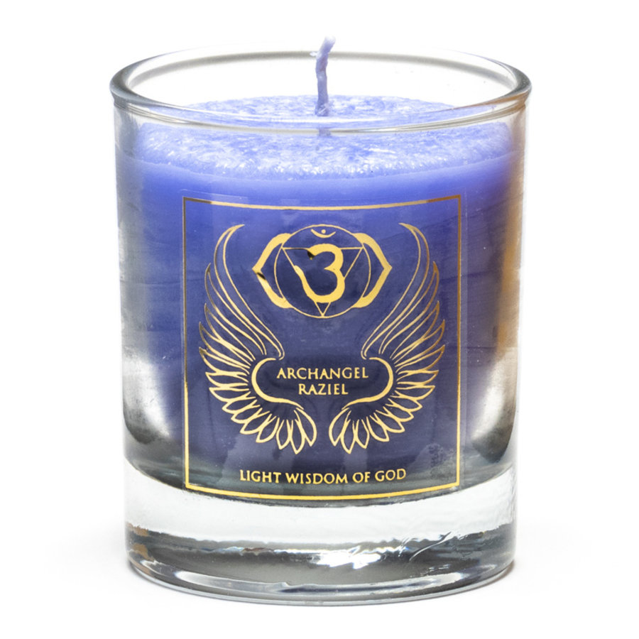 Chakra Kerzen im Glas-8