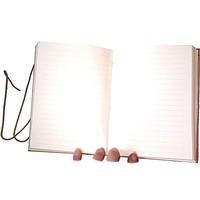 thumb-Schreibbuch mit Büffelledereinband-3