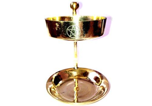 Räucherlampe mit Pentagramm