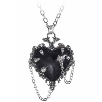 thumb-Witch's Heart Pendant-2