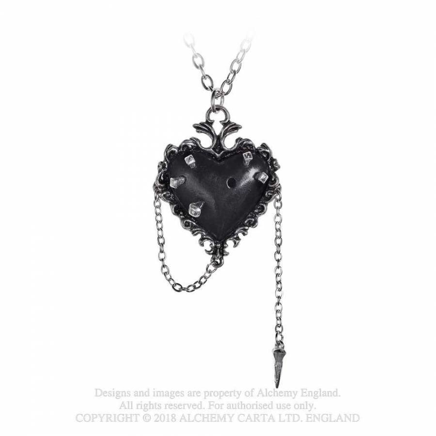 Witch's Heart Pendant-5