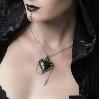 thumb-Witch's Heart Pendant-8