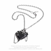 thumb-Witch's Heart Pendant-7