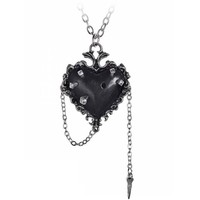 thumb-Witch's Heart Pendant-3