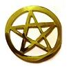 Pentagramme Pentagramm aus Messing,