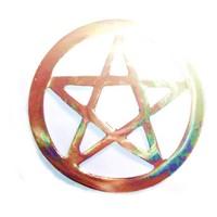 thumb-Pentagramm aus Messing,-7