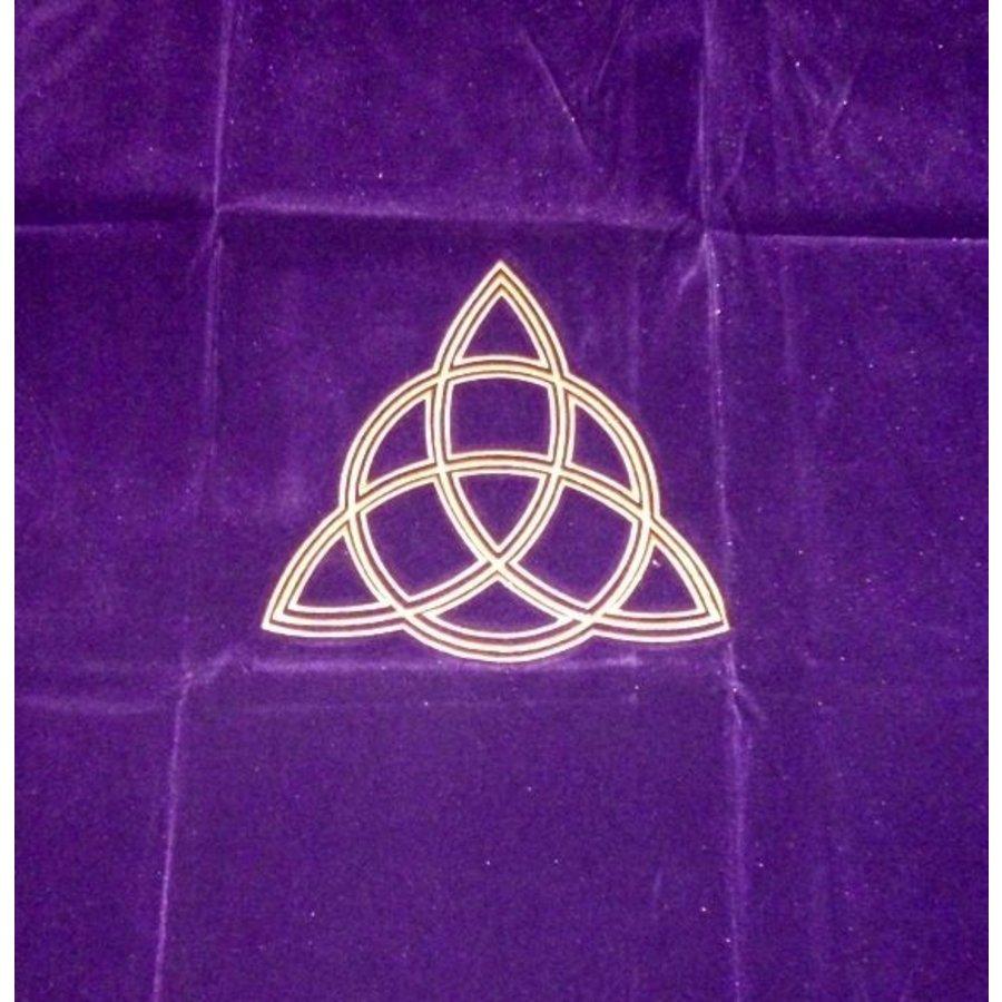 Tarot Decke Dreifache Göttin-Charmed mit Triquetta-2