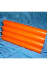 Durchgefärbt Stabkerze, Orange