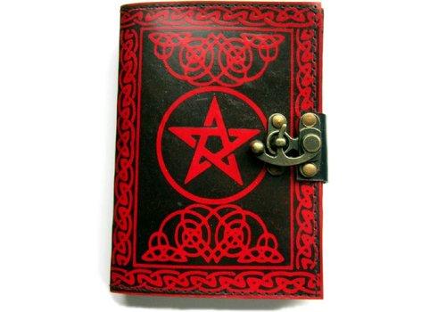 Buch der Schatten Pentagramm rot