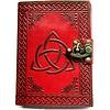 Schreibzeug Grimoire - Book of shadows Triquetra Charmed
