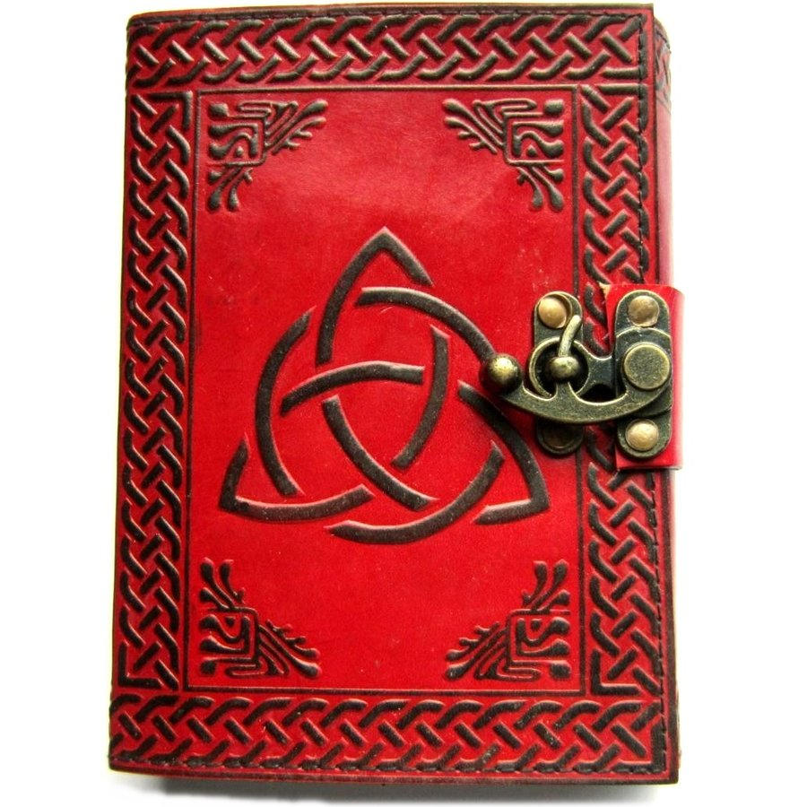 Grimoire - Book of shadows Triquetra Charmed-1