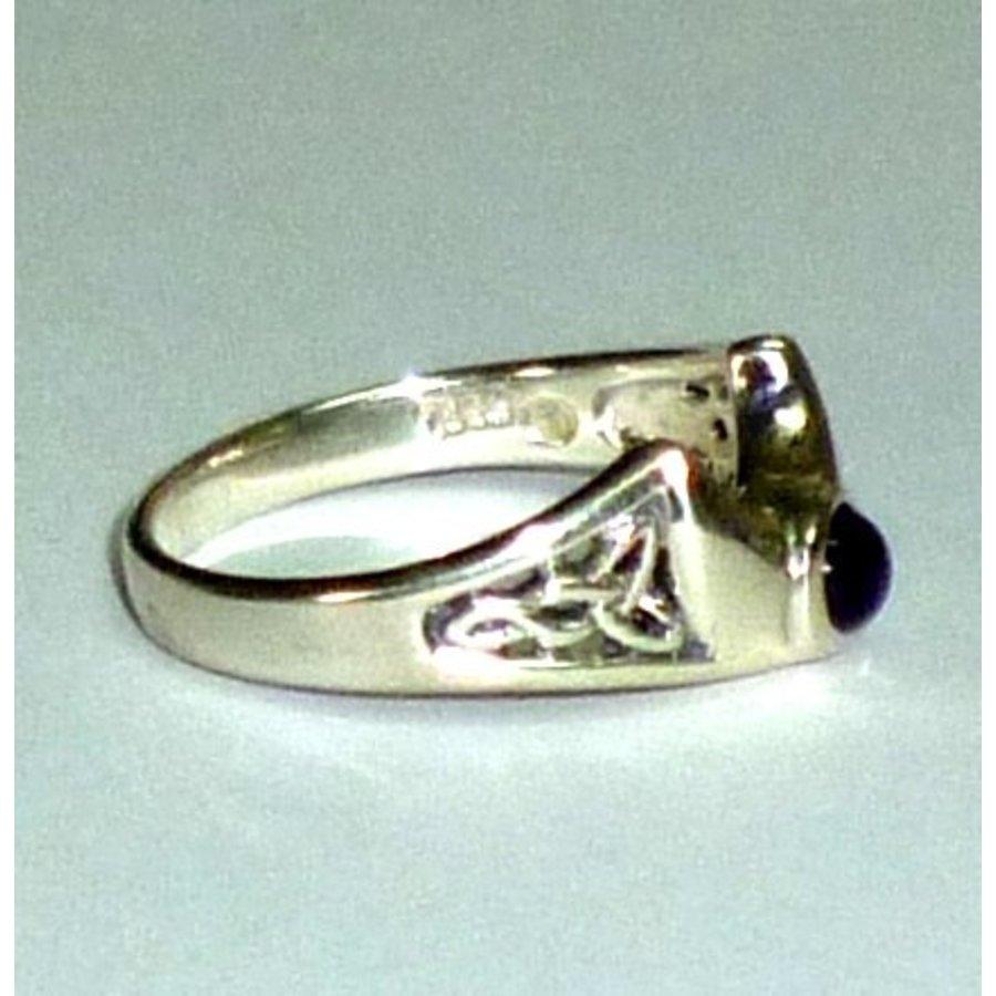 Ring Halbmond aus 925-Silber-4