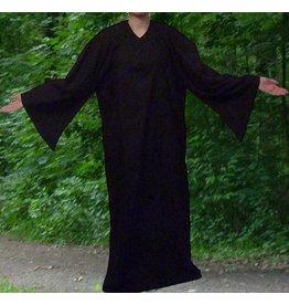 Ritualbedarf Ritualkleid, Ritual Robe, schwarz ab
