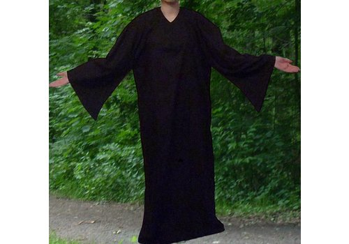 Ritualkleid, Ritual Robe, schwarz ab