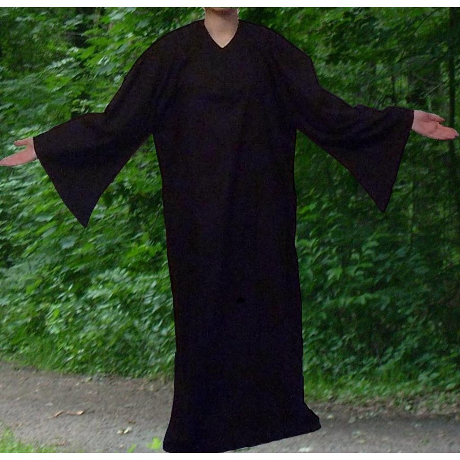 Ritualkleid, schwarz-1