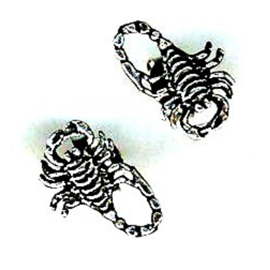 Ohrstecker Skorpion aus 925 Sterling Silber-1