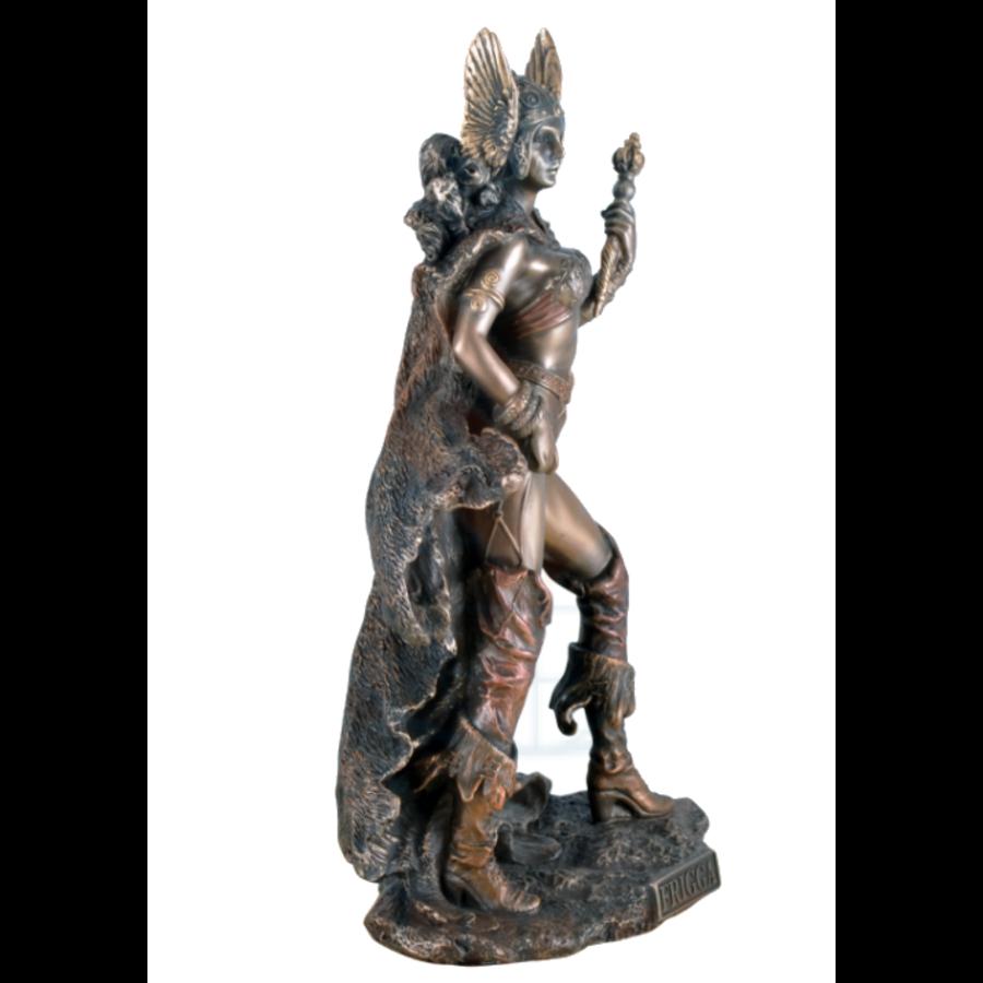 Frigg aus Polyresin, bronziert-7