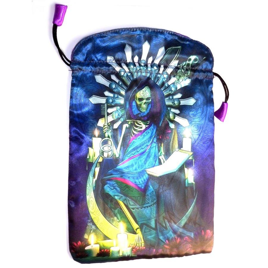 Tarot Beutel - Santa Muerte, groß-1