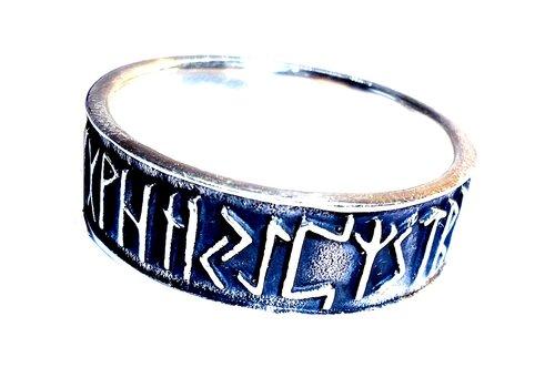 Runenring Silber