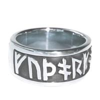 thumb-Runenring  aus Bronze oder aus 925 Sterling Silber-10