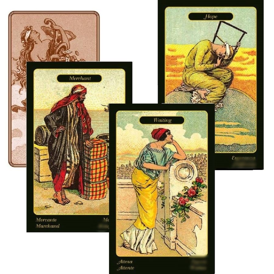 Gypsy Oracle Cards-2