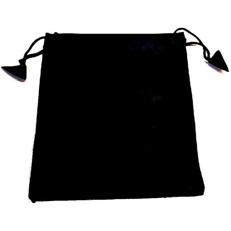 Schwarzer Spiegel mit Beutel-3