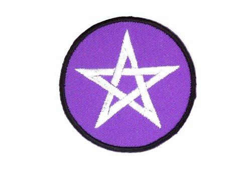 Patches (Aufnäher) mit Pentagramm
