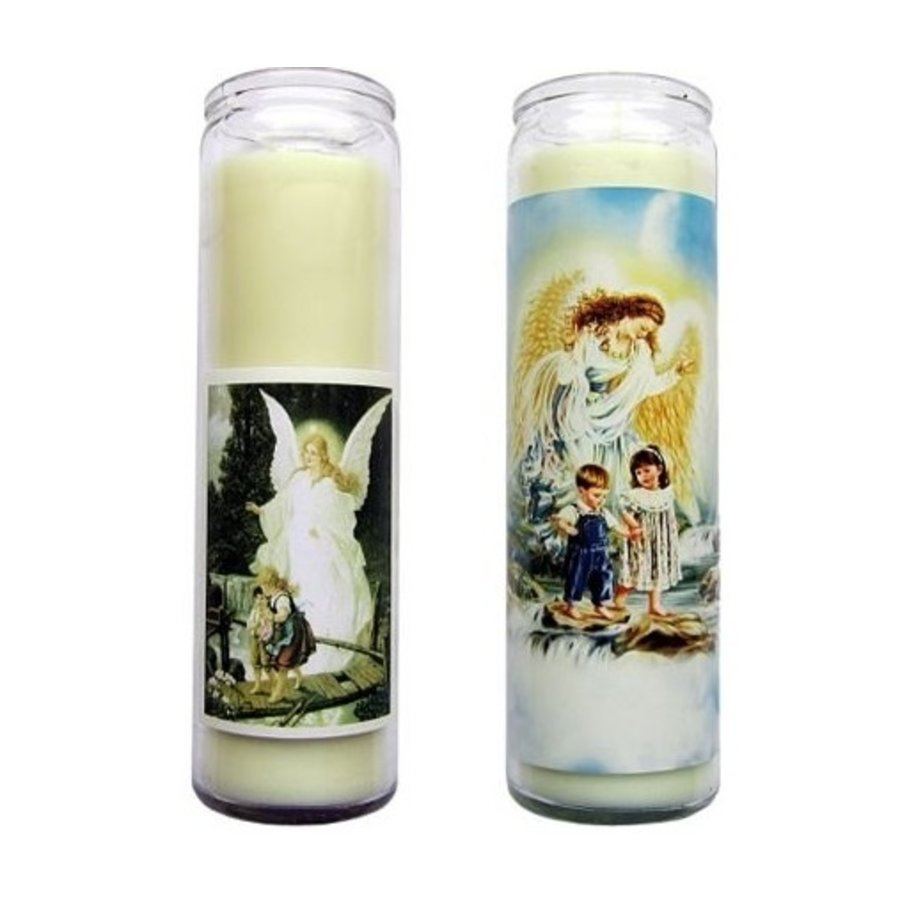 Kerze im Glas Schutzengel-2