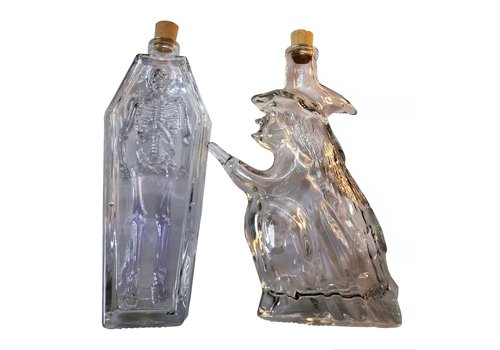 Elixierflasche Hexe oder Sarg