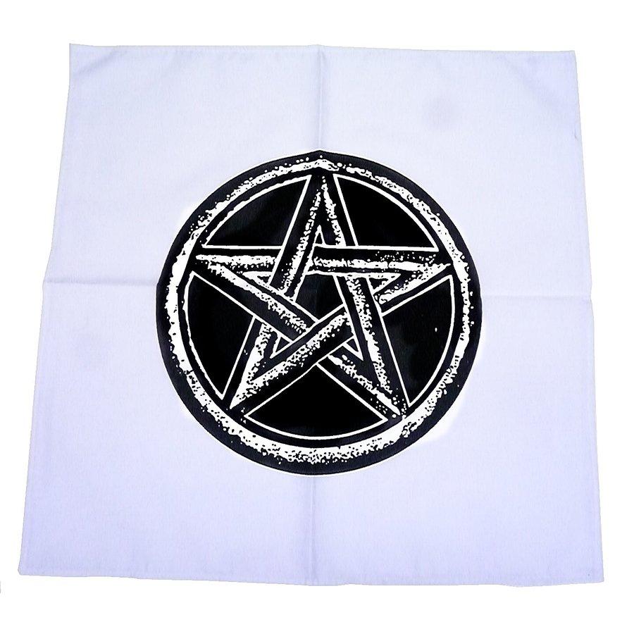 Altartuch mit Pentagramm in verschiedenen Farben-4