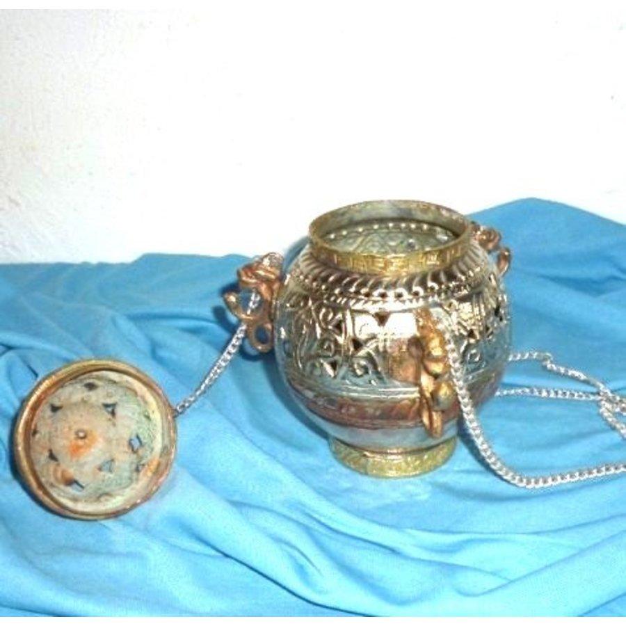 Schwenkräuchergefäß mit Ornamenten-4